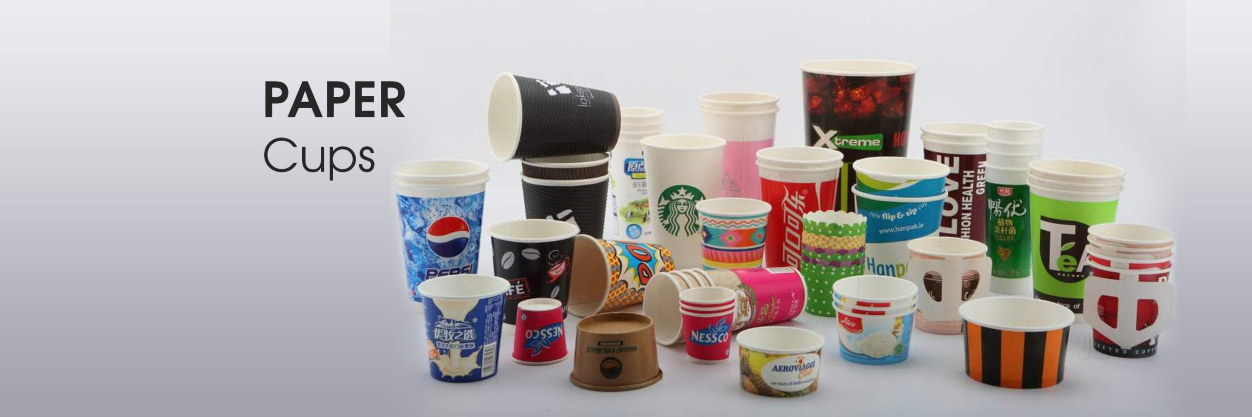 paper cups home page banner